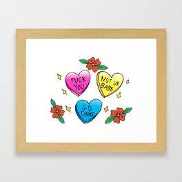 Candy is Dandy Framed Art Print