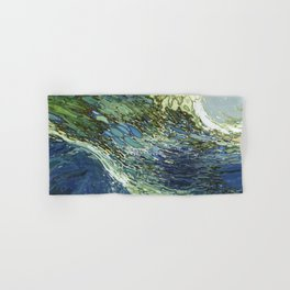 Ebb and Flow Ocean Waves Hand & Bath Towel