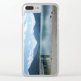 Lake Schliersee Clear iPhone Case