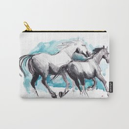 Horses (Mom&kid) Carry-All Pouch