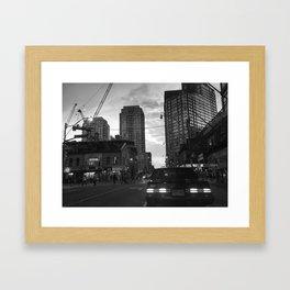 Classic Car - Toronto Framed Art Print
