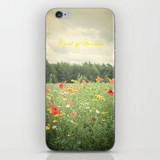 Field Of Dreams  iPhone & iPod Skin