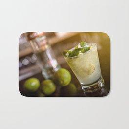 Cocktail drink Bath Mat