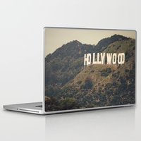 hollywood Laptop & iPad Skins featuring Old Hollywood by CMcDonald
