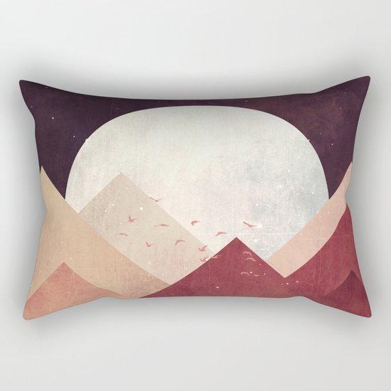 Midnight Mountains Rectangular Pillow