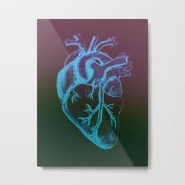 Atomically Correct Heart Metal Print
