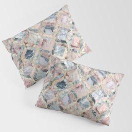 Marble Moroccan Tile Pattern Pillow Sham