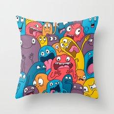Weird Bros Throw Pillow