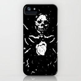 Worship the dark III iPhone Case