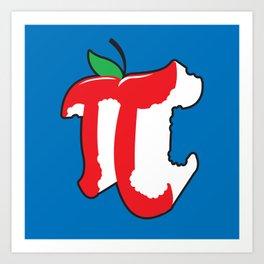 Apple Pi Art Print