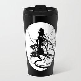 ghost in a shell - sci-fi - manga -anime Travel Mug