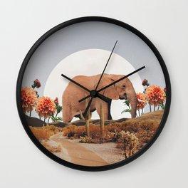 CINNAMON Wall Clock
