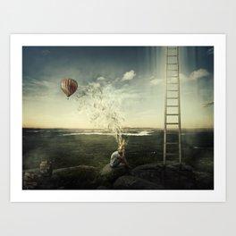 artist imagination Art Print