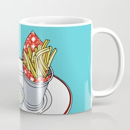 Burger, Chips and Lemonade Coffee Mug