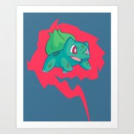 Go! Art Print
