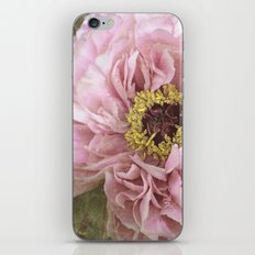 summertime peony iPhone & iPod Skin