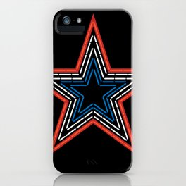 Roanoke Pride Mill Mountain Star iPhone Case