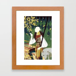 Dragon Age Solas Tarot Paper Art Framed Art Print