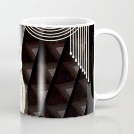 "Art Deco Design ""Pearl and Diamonds"" Coffee Mug"