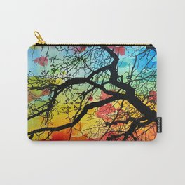 Painting Colorful Landscape Trees Nature Carry-All Pouch
