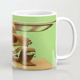 Time Traveling Warrior Coffee Mug