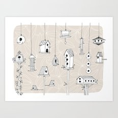 Affordable Housing Art Print
