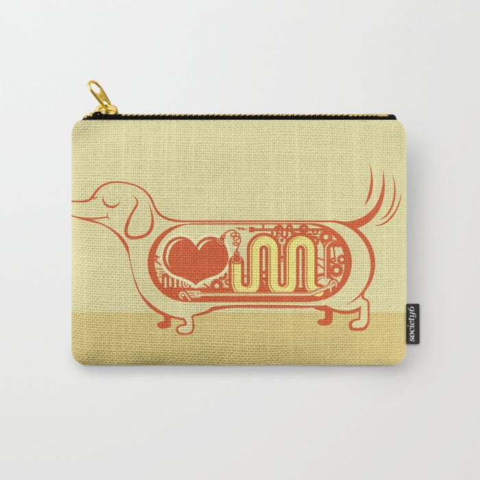 I heart sausage dogs Carry-All Pouch