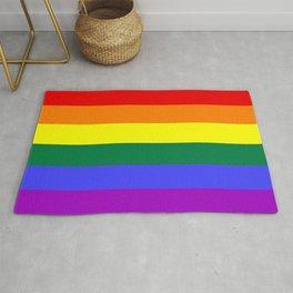 LGBT Gay Flag Rug