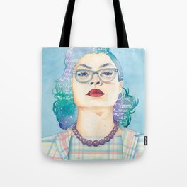 Katherine Johnson Hidden Figures Tote Bag