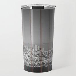 Golden Gate Bridge | Panoramic Downtown View Travel Mug