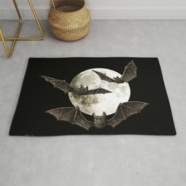 Creatures Of The Night Rug