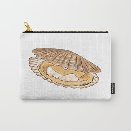 Illustration of Fresh Scallop Carry-All Pouch