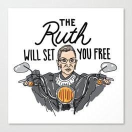 The Ruth Will Set You Free Canvas Print