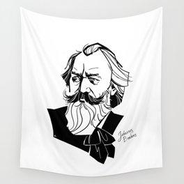 Johannes Brahms Wall Tapestry