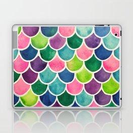This Mermaid Life Bright by Andrea Laptop & iPad Skin