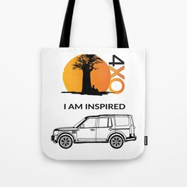 4xOverland Discovery Tote Bag