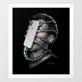 Xenomorphone Art Print