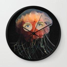 A (very) Jelly Fish Wall Clock