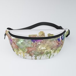 Los Angeles Skyline - Faded Glory Fanny Pack