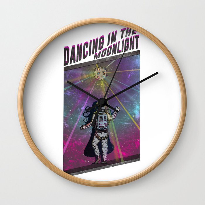 Dancing in the Moonlight Wall Clock