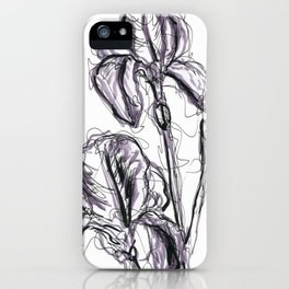 Lili flower in spring II iPhone Case