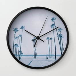 summer dissipation Wall Clock