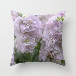 Stock Flower Pink Throw Pillow
