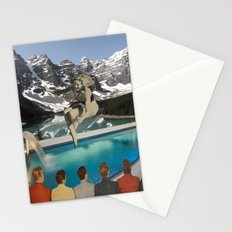 Poolside Olympics Stationery Cards