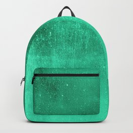 Abstract turquoise gradient wall texture pattern Backpack