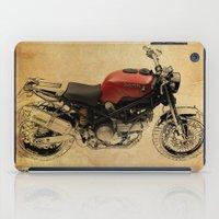 ducati iPad Cases featuring Ducati Scrambler by Larsson Stevensem