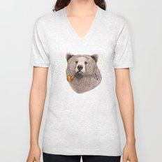 Sailor Bear Unisex V-Neck