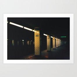 23rd St. Station, 2012 Art Print