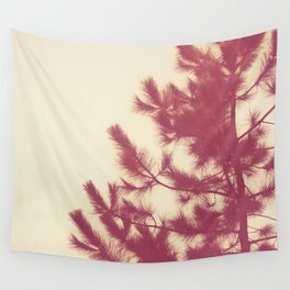 Pine Grove Sunset Wall Tapestry