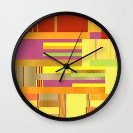 Scandinavian Moon (Fruit Colours) Wall Clock